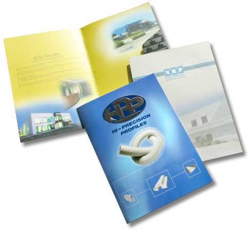Commercial Printing Network Standard Presentation Folders